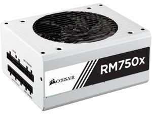 CORSAIR RM750x White CP-9020155-NA 750W ATX12V / EPS12V 80 PLUS GOLD Certified Full Modular Power Supply