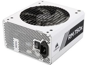 CORSAIR RMx White Series RM750x White (CP-9020187-NA) 750W 80 PLUS Gold Certified, Fully Modular Power Supply, 10 Year Warranty