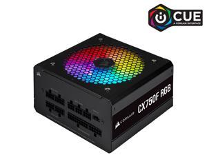 CORSAIR CX-F RGB Series CX750F RGB 750W 80 PLUS Bronze Fully Modular ATX Power Supply, CP-9020218-NA