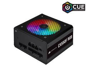 CORSAIR CX-F RGB Series CX550F RGB 550W 80 PLUS Bronze Fully Modular ATX Power Supply, CP-9020216-NA