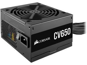 CORSAIR CV Series CV650 CP-9020236-NA 650W ATX12V / EPS12V 80 PLUS BRONZE Certified Non-Modular Active PFC Power Supply