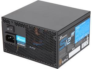 Seasonic S12III 500 SSR-500GB3 500W 80+ Bronze Power Supply, ATX12V & EPS12V, Direct Output, Smart & Silent Fan Control, 5 yr Warranty