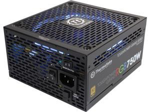 Thermaltake Toughpower Grand RGB 750W Smart Zero Fan SLI/CrossFire Ready Continuous Power ATX12V v2.4 / EPS v2.92 80 PLUS GOLD Certified Full Modular Power Supply PS-TPG-0750FPCGUS-R