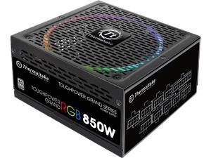 Thermaltake Toughpower Grand RGB 850W SLI/CrossFire Ready Continuous Power RGB LED Smart Zero Fan ATX12V v2.4 / EPS v2.92 80 PLUS PLATINUM Certified 10 Year Warranty Full Modular Power Supply