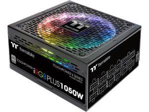 Thermaltake Toughpower iRGB Plus 1050W Digital SLI/CrossFire Ready Continuous Power Digital RGB LED Smart Zero Fan ATX12V v2.4 / SSI EPS v2.92 80 PLUS PLATINUM Certified Full Modular Power Supply