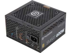 Thermaltake PS-TTP-0600NNFAGU-1 600W ATX12V 80 PLUS GOLD Certified Non-Modular Active PFC Power Supply 80+ Gold Non-Modular SI Only Bulk Pack