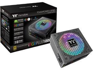 Thermaltake Toughpower iRGB PLUS 1000W 80+ Gold SLI/ CrossFire Ready RGB LED ATX12V v2.4/ EPS v2.92 10 Year Warranty Fully Modular Digital Power Supply PS-TPI-1000F3FDGU-1