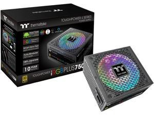 Thermaltake Toughpower iRGB PLUS 750W 80+ Gold SLI/ CrossFire Ready RGB LED ATX12V v2.4/ EPS v2.92 10 Year Warranty Fully Modular Digital Power Supply PS-TPI-0750F3FDGU-1