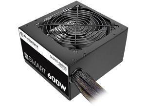 Thermaltake Smart 600W PS-SPD-0600NPCWUS-1 600W ATX12V 80 PLUS Certified Non-Modular Active PFC Power Supply