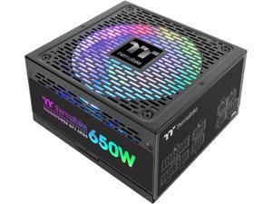 Thermaltake Toughpower GF2 ARGB 650W 80+ Gold 16.8 Million Colors 18 Addressable LEDs 5V Motherboard Sync/Analog Controlled SLI Full Modular Power Supply, PS-TPD-0650F3FAGU-2