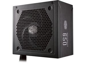 Cooler Master Master Watt 650W Semi-Fanless Silencio Fan, Semi-Modular 80 PLUS Bronze Power Supply