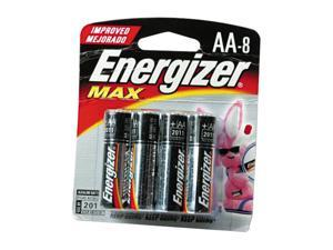 Energizer E91BP-2 8-pack AA Alkaline Batteries