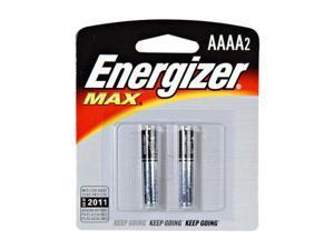 Energizer E96BP2 AAAA Alkaline Batteries, 2 Per Pack