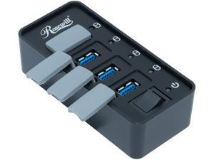 Rosewill RHB-210 USB 3.0 4 Ports Hub with Anti-dust Design