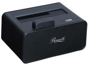 "Rosewill RX234 2.5""/3.5"" SATA III USB 3.0 LED Single Bay HDD Docking Supports UASP and Hard Drive Capacity Up to 10TB"