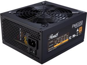 Rosewill PMG550 550W ATX Full Modular Gaming Power Supply, 80 PLUS Gold Certified, Single +12V Rail, Continuous Power, Intel 4th Gen CPU Ready, SLI & Crossfire Ready
