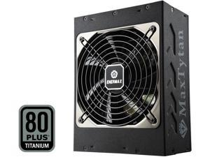 Enermax MaxTytan 750W 80 PLUS Titanium Certified, Full Modular, 10 Year Warranty, Active PFC Power Supply, EMT750EWT