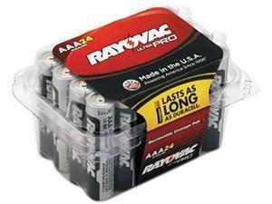 Rayovac ALAAA-24F Mercury Free Alkaline Batteries, AAA 24 Pk