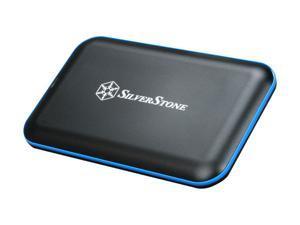"SilverStone TS04B 2.5"" Black SATA USB 3.0 External Enclosure"