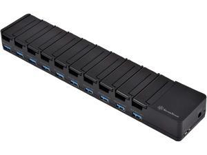 SilverStone UC04-PRO 60W 10 Port USB 3.1 Charging and Date Transfer Station