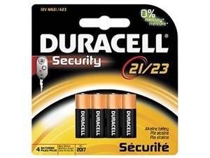 DURACELL CopperTop 12V 21 / 23 (8LR50 / A23 / MN21) Alkaline Battery, 4-pack