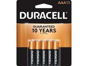 Duracell MN2400B10ZCT CopperTop Batteries For Flashlight, Smoke Alarm, Lantern, Calculator, Pager, Door Lock, Camera, Recorder, Radio, CD Player, Medical Equipment - AAA - Alkaline - 400 / Carton