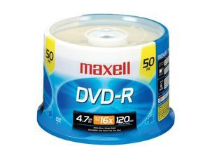 maxell 4.7GB 16X DVD-R 50 Packs Disc Model 638011