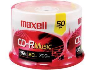 maxell 700MB 48X CD-R 50 Packs Media Model 625156