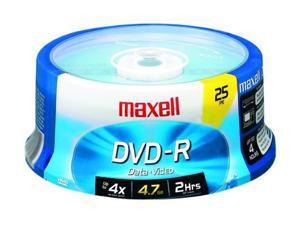 maxell 4.7GB 16X DVD-R 25 Packs Disc Model 635052/638010