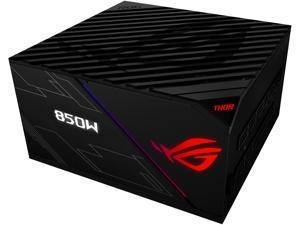 ASUS ROG Thor 850 80+ Platinum 850W Fully Modular RGB Power Supply with LIVEDASH OLED Panel and 10 Year Warranty
