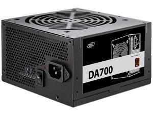 DeepCool DA700 80 Plus Bronze Certified 700W Power Supply, ATX12V, 120mm PWM Silent Fan, 5 Year Warranty