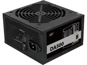 DeepCool DA500 80 Plus Bronze Certified 500W Power Supply, ATX12V, 120mm PWM Silent Fan, 5 Year Warranty