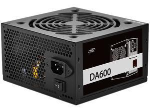 DeepCool DA600 80 Plus Bronze Certified 600W Power Supply, ATX12V, 120mm PWM Silent Fan, 5 Year Warranty