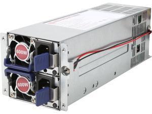 Athena Power AP-RRU2ATX608 600W Redundant 2U Micro redundant PSU