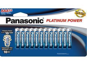 Panasonic  24-pack AAA Alkaline Batteries