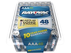 Rayovac 824-48PPTF 48-pack AAA Alkaline Batteries