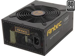 Antec HCP-1300 Platinum 1300W ATX12V / EPS12V SLI CrossFire 80 PLUS PLATINUM Certified Full Modular Active PFC Power Supply - Intel Haswell Fully Compatible