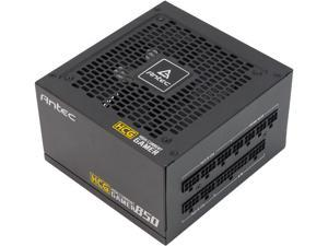 Antec High Current Gamer Series HCG850 Gold, 850W Fully Modular, Full-Bridge LLC and DC to DC Converter Design, Full Japanese Caps, Zero RPM Manager, Compacted Size 140mm, 10 Year Warranty