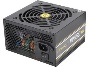 Antec Value Power Series VP650 Plus, 650W Non-Modular, 80 PLUS Certified, Thermal Manager, CircuitShield Protection, 120mm Silent Fan with 3-Year Warranty