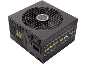 Antec NeoECO Series NE550G 550W ATX 12V / EPS 12V 80 PLUS GOLD Certified Semi-Modular Compact 140 mm Size 7 Year Warranty Power Supply
