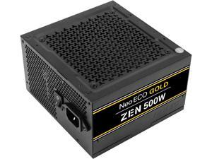 Antec NeoECO Gold Zen NE500G Zen Power Supply 500W, 80 PLUS GOLD Certified with 120mm Silent Fan, LLC + DC to DC Design, Japanese Caps, CircuitShield Protection, 5-Year Warranty