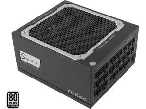 Antec Signature Series SP1300, 80 PLUS Platinum Certified, 1300W Full Modular with OC Link Feature, PhaseWave Design, Full Top-Grade Japanese Caps, Zero RPM Mode, 135 mm FDB Silence & 10-Year Warranty