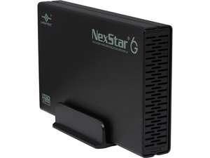 VANTEC NST-366S3-BK 3.5-Inch SATA 6GB/s to USB 3.0 HDD Enclosure, Black