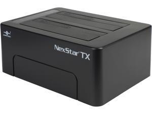 "VANTEC NexStar TX NST-D428S3-BK 2.5"" & 3.5"" Black Standard SATA x 2 (Dual Bay) USB Type B External Enclosure"