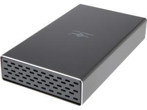 "VANTEC NST-371C31-BK 2.5"" & 3.5"" Black SATA I/II/III USB 3.1 Type C NexStar GX USB 3.1 Gen 2 Type-C 3.5"" SATA HDD/SSD Enclosure"