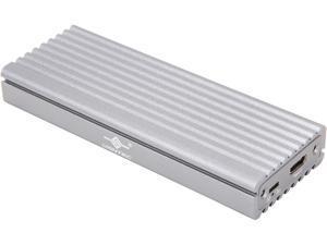 VANTEC NST-205C3-SG Silver M.2 NVMe SSD to USB 3.1 Gen 2 Type-C Enclosure