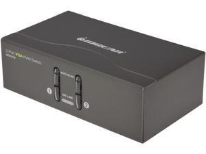 IOGEAR GCS1722 2 Port VGA KVM Switch w/ PS2 & USB