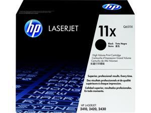 HP 11X High Yield LaserJet Toner Cartridge - Black