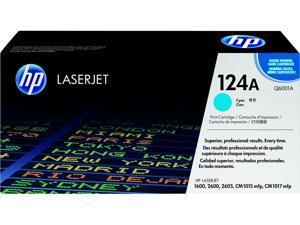 HP 124A LaserJet Toner Cartridge - Cyan