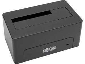 Tripp Lite USB 3.0 SuperSpeed to SATA External Hard Drive Docking Station for 2.5in or 3.5in HDD (U339-000)